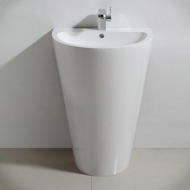 Fresca FCB5023WH Parma Pedestal Sink