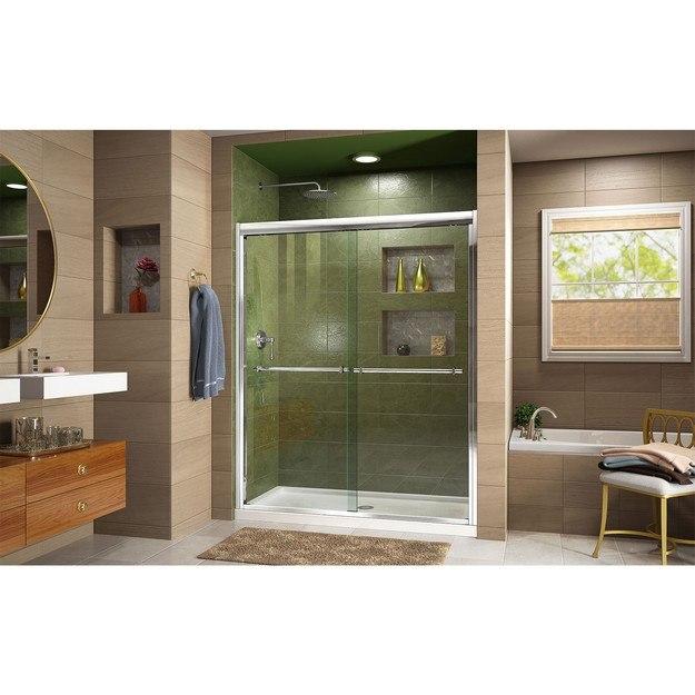 Duet Shower Door C Base CenterDrain