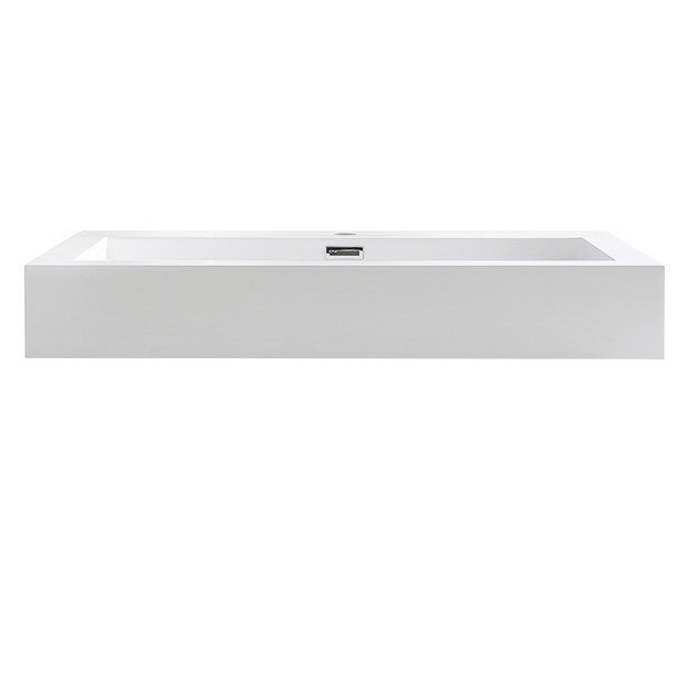 Fresca FVS8030WH with Countertop