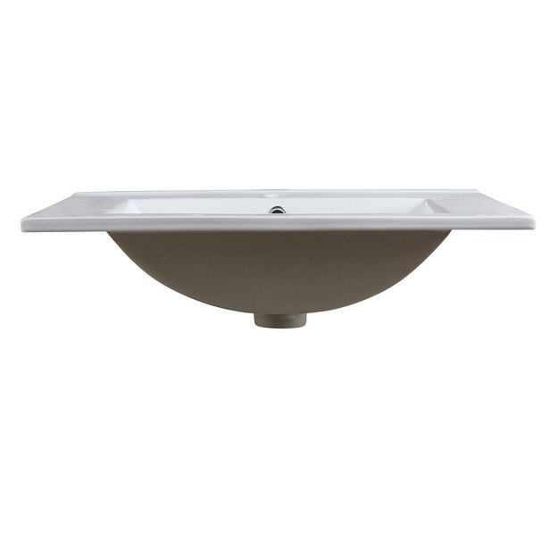 Fresca FVS8125WH with Countertop