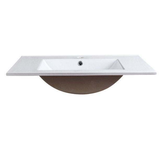 Fresca FVS8130WH with Countertop