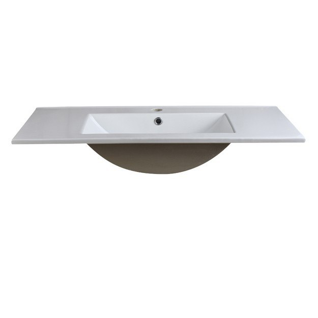 Fresca FVS8136WH with Countertop