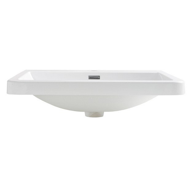 Fresca FVS8525WH with Countertop