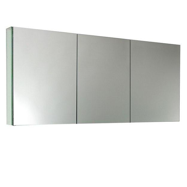 Fresca FMC8019 59 Inch Wide Bathroom Medicine Cabinet w ...