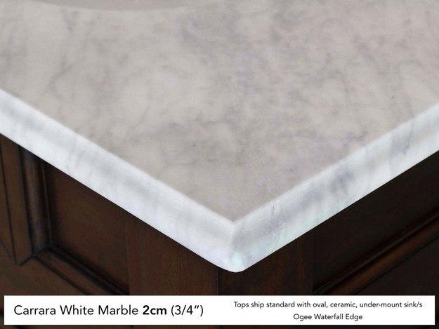 Carrara White Marble 2cm