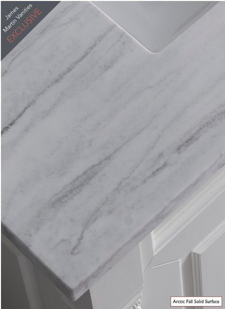Arctic Fall 3cm Solid Surface
