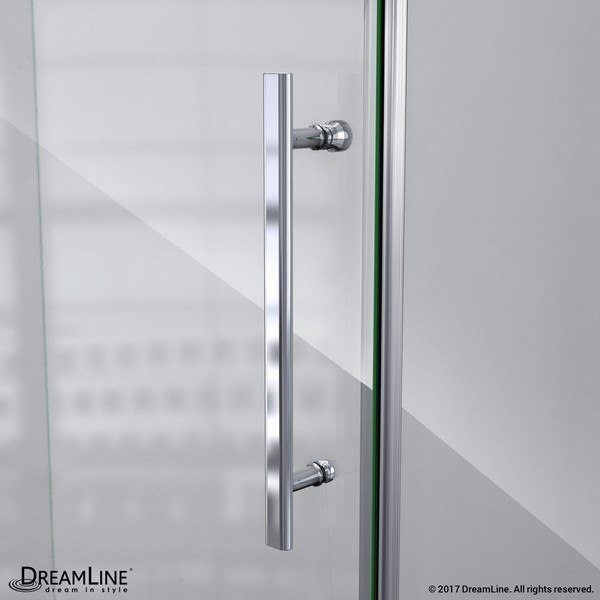Prism Lux Shower Enclosure Handle Chrome