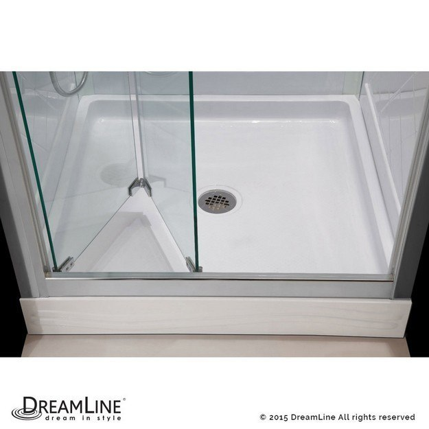Dreamline Dl 6129c 01cl Butterfly 32 D X 32 W X 76 3 4 H