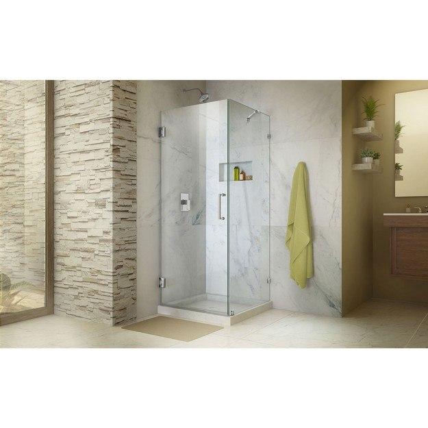 Unidoor Lux Shower Enclosure Open Door Small 01 Interior