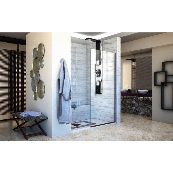 Dreamline Shdr 3234721 Linea Single Panel Frameless Shower