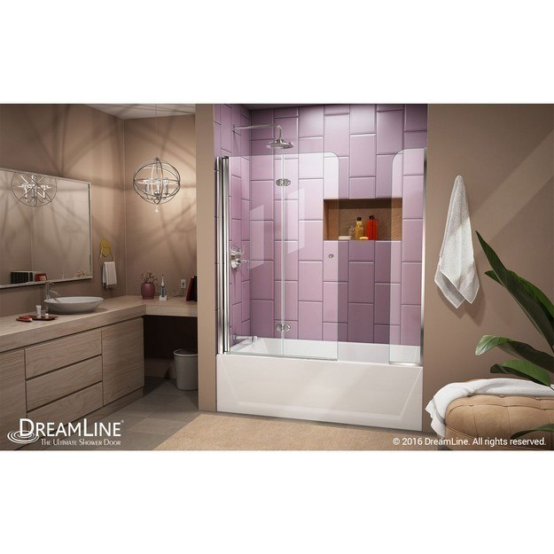 Dreamline Shdr 3636580 Ex 01 Aqua Fold 56 60 W X 58 H