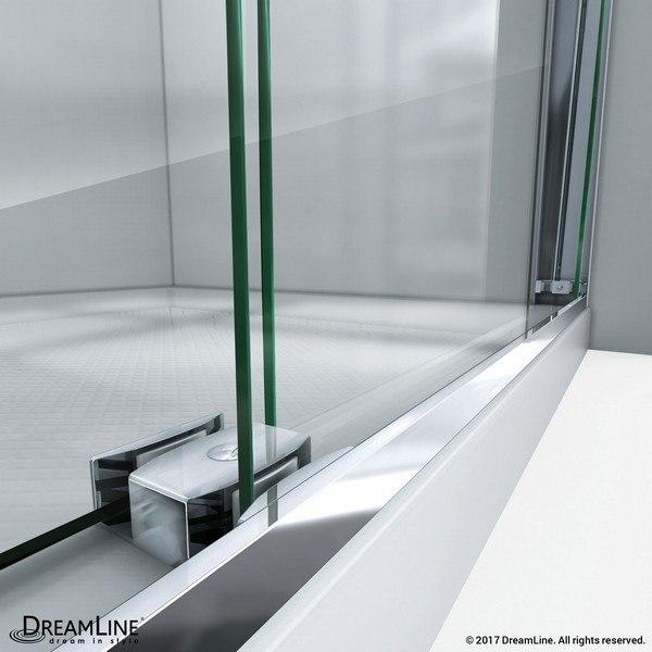 EssenceH Shower Door Guide Bar Chrome