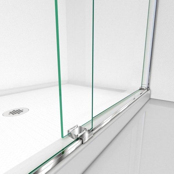 Essence Shower Door Guide Bar Chrome