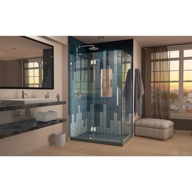Quatra Lux Shower Enclosure 01 Left Drain