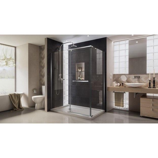 Quatra Modern Corner Shower Enclosure 01 Interior