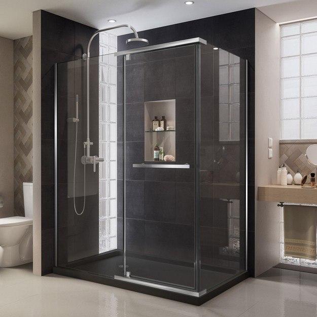 Quatra Shower Enclosure Black Base