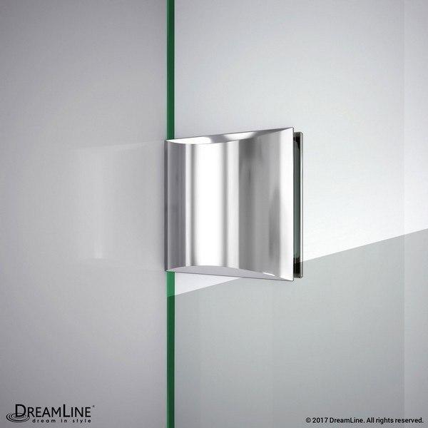 Shower Door Glass to Wall Bracket Generic Chrome