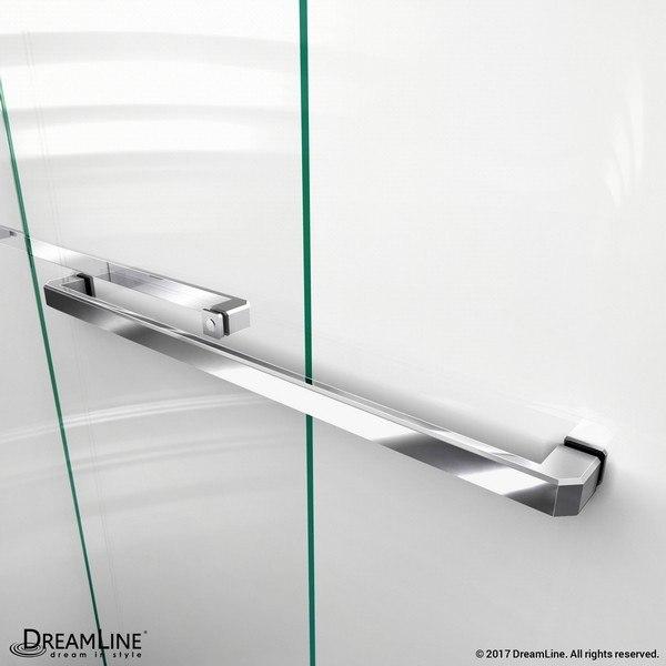 Encore Shower Door Towel Bar Chrome