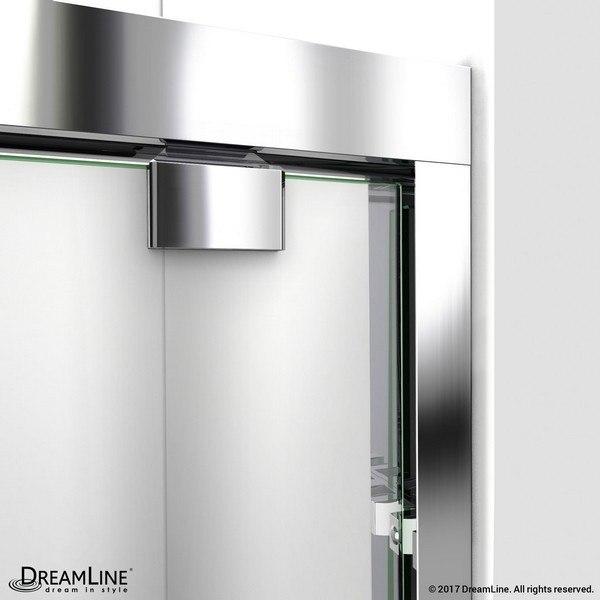 Encore Shower Door Wall Profile Chrome