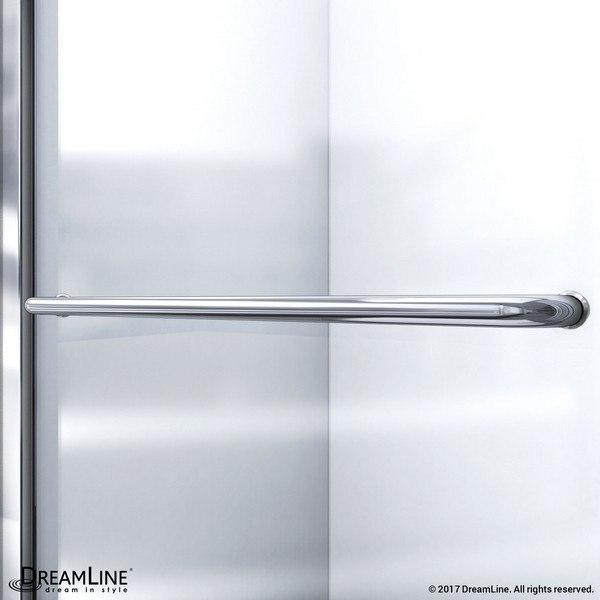 Infinity Z Shower Door Towel Bar Chrome