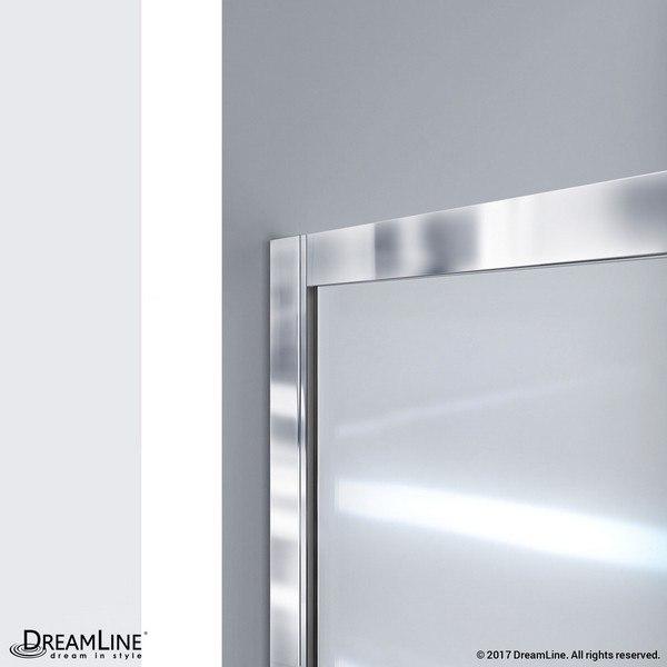 Infinity Z Shower Door Wall Profile Chrome