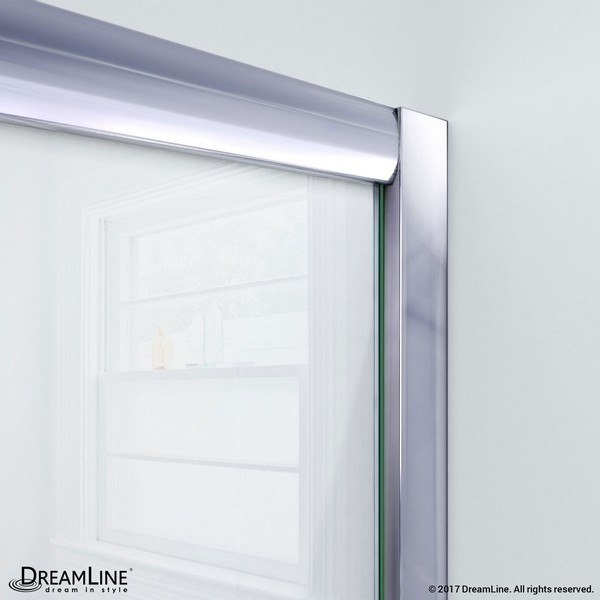 Visions Shower Door Wall Profile Chrome