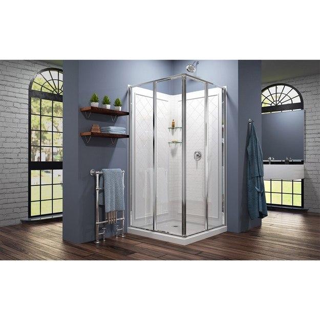 Cornerview Complete Shower Solution Modern Interior