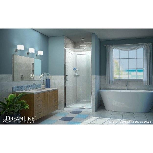 Flex Modern Complete Shower Solution Interior