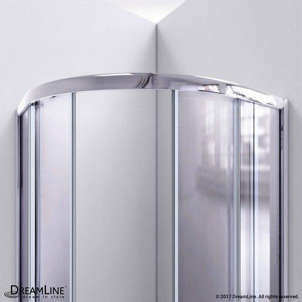Prime Shower Enclosure Top Bar Chrome