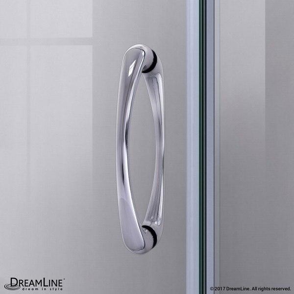 Prime Shower Door Handle Chrome
