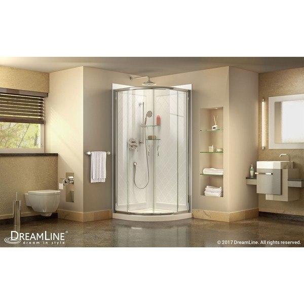 Prime Shower Enclosure Chrome Finish