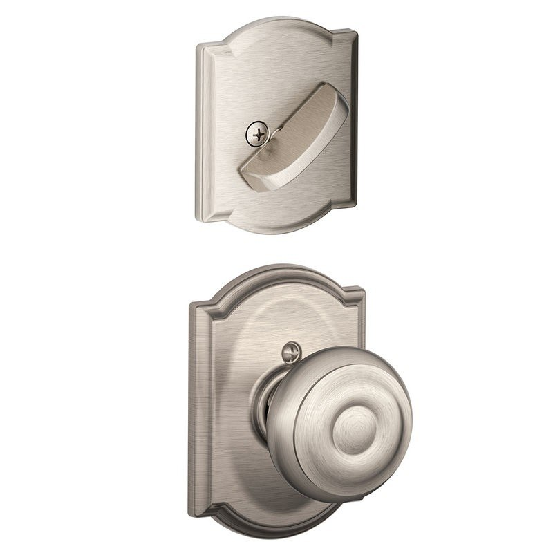 schlage residential f59geocam f series georgian with camelot