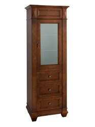 RONBOW 674126-F11 TORINO CURIO CABINET IN COLONIAL CHERRY