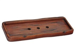RONBOW 528007-F19 NEO-CLASSIC SOLID WOOD SOAP TRAY IN RUSTIC PINE