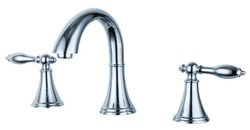BLOSSOM F01 115 01 WIDE SPREAD LAVATORY FAUCET IN CHROME