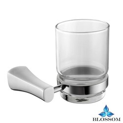 BLOSSOM BA02 403 01 WALL MOUNTED TOOTHBRUSH HOLDER IN CHROME