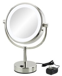 APTATIONS 745 9 INCH NEOMODERN FREESTANDING MAGNIFIED MIRROR
