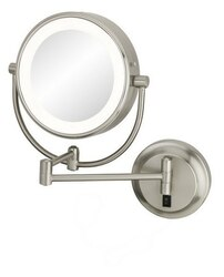 APTATIONS 945-35-75HW NEOMODERN LED LIGHTED HARDWIRED WALL MIRROR IN BRUSHED NICKEL