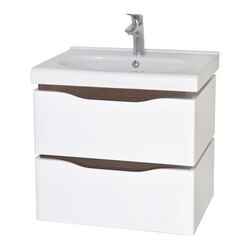 NAMEEKS VN-W01 VENICE 24 INCH WHITE VANITY CABINET WITH FITTED SINK
