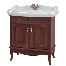 NAMEEKS MI-F03 MICHELA 31 INCH CALVADOS VANITY CABINET WITH FITTED SINK
