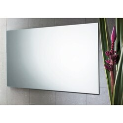 GEDY 2551-13 PLANET 39 X 24 INCH WALL MOUNTED POLISHED EDGE VANITY MIRROR