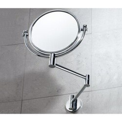 GEDY 2104-13 MIRRORS WALL DOUBLE SIDED CHROME 2X MAGNIFYING MIRROR