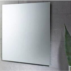 GEDY 2550-13 PLANET 24 X 28 INCH WALL MOUNTED VANITY MIRROR