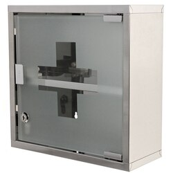 GEDY J035-13 JOKER STAINLESS STEEL MEDICINE CABINET FINISHED IN POLISHED CHROME