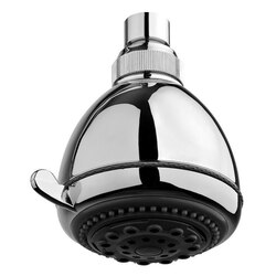 GEDY A011074 SUPERINOX HEAD SHOWER WITH 5 FUNCTIONS IN POLISHED CHROME