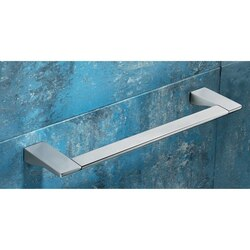 GEDY 5721-45-13 GLAMOUR SQUARE 18 INCH POLISHED CHROME TOWEL BAR