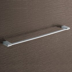 GEDY 3821-60-13 KANSAS SQUARE 24 INCH POLISHED CHROME TOWEL BAR