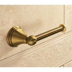 GEDY 7524-44 ROMANCE CLASSIC-STYLE BRONZE TOILET ROLL HOLDER