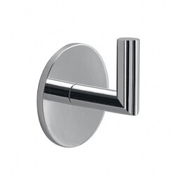 GEDY 3626-13 GEA ADHESIVE CHROME WALL MOUNTED HOOK