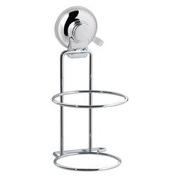 GEDY HO52-13 HOT SUCTION CUP CHROME HAIR DRYER HOLDER